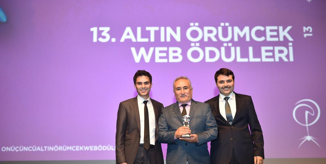 Altın Örümcek Web Ödülü Üniversitemizin