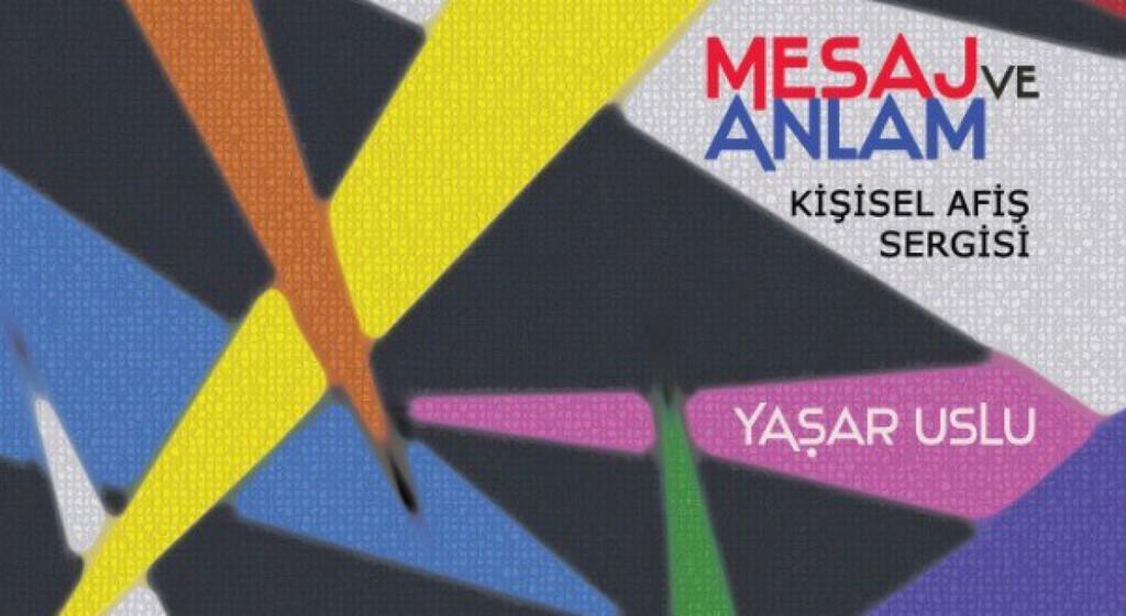 """YSSM'de Dijital Tasarımlarla """"Mesaj ve Anlam"""" Konulu Kişisel Afiş Sergisi"""