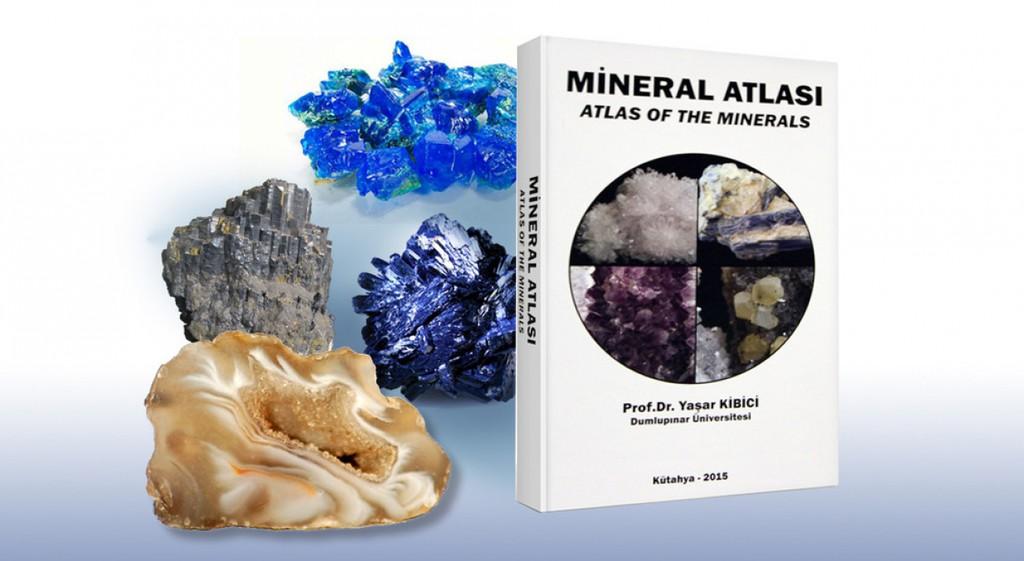"""Üniversite-Sanayi işbirliği Kapsamında """"Mineral Atlası"""" Yayınlandı"""