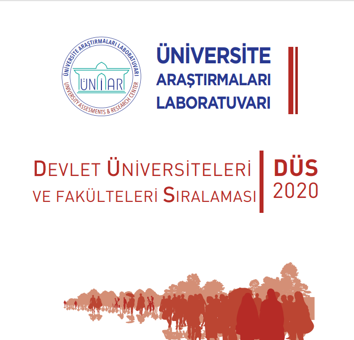Devlet Üniversiteleri ve Fakülteleri Sıralaması [Düs] 2020
