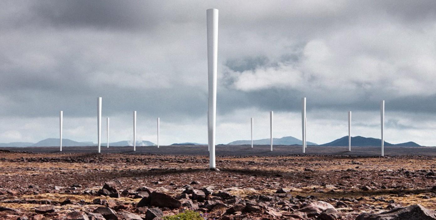 Sallanarak Elektrik Üreten Rüzgar Türbini