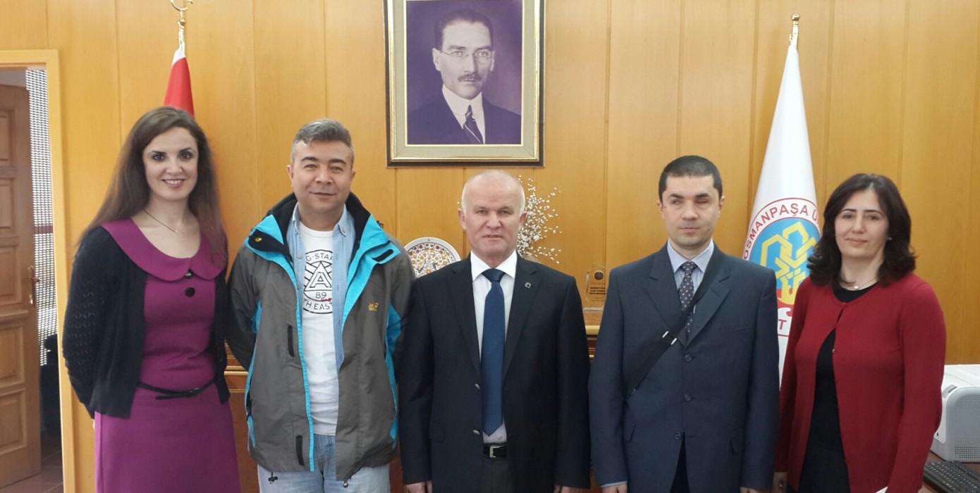 Gaziosmanpaşa Üniversitesi (Eybis) Çalışması