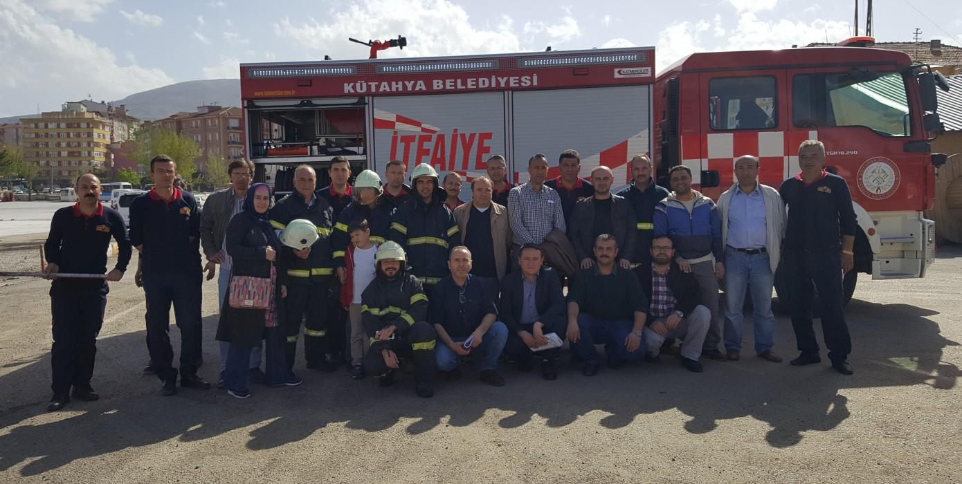 Üniversitemiz Çalışanları Yangınla Mücadele Ekibi Eğitimlerimiz 27.06.2016 Tarihinde Tamamlandı.