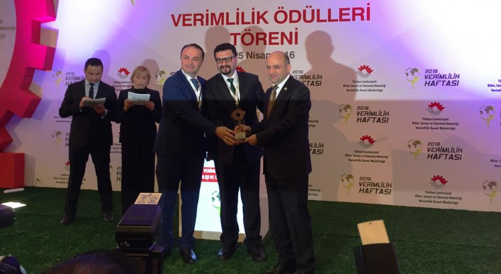 T.C. Bilim, Sanayi ve Teknoloji Bakanlığı 2016 Mikro İşletme Verimlilik Proje Teşvik Ödülü'nü Üniversitemiz Tasarım-Teknokent firmalarından Teknoceram Ltd. Şti. kazandı.