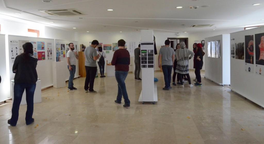 Güzel Sanatlar Fakültesi Görsel İletişim Tasarımı Bölümümüz Sıtkı Koçman Üniversitesi Güzel Sanatlar Fakültesi'nde Öğrenci Projeleri Sergisi Açtı
