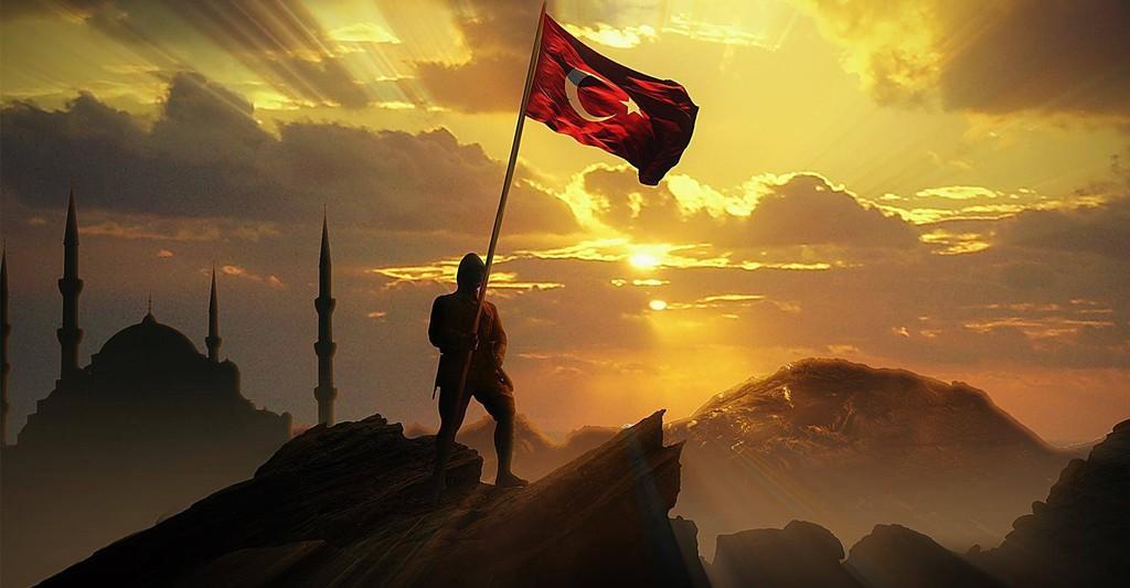 """Başın Sağolsun Türkiye..... Dualarımız Türk Milleti'nin ve Türkiye Cumhuriyeti'nin Bekası İçin!.."""""""