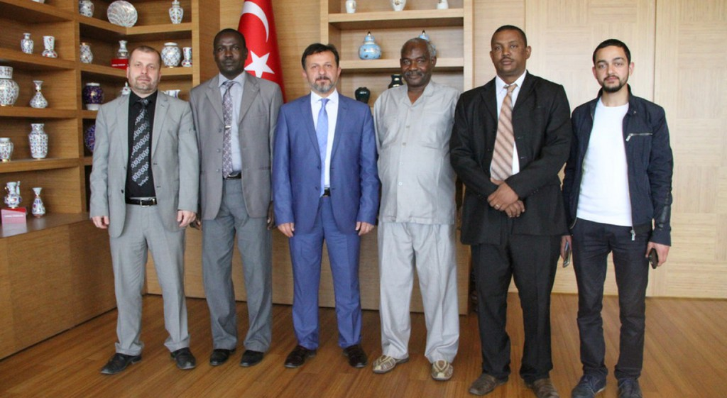 Sudan Dalanj Devlet Üniversitesi'nden Gelen Heyet Üniversitemizi Ziyaret Etti.