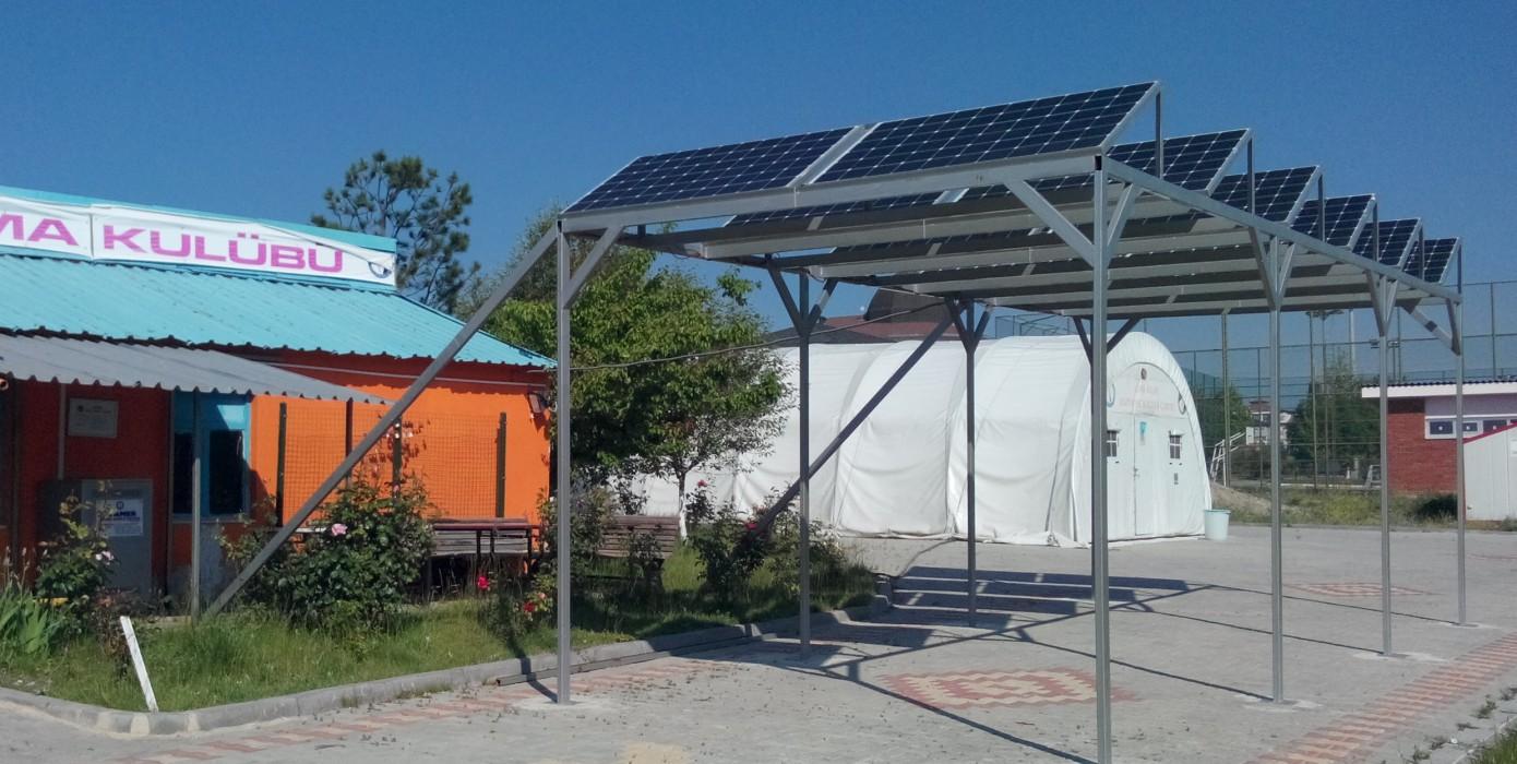 Afemer Güneş Enerji Sistemi BAP Projesi