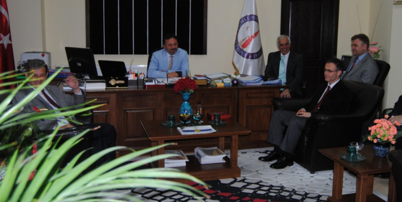 Rektörümüz Prof. Dr. Remzi Gören'in Dekanlığımızı Ziyareti