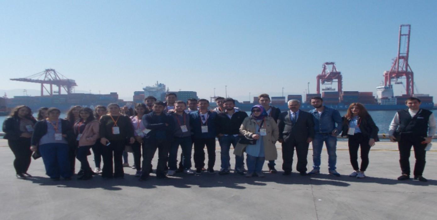 Borusan Lojistik Gemlik Limanı- Teknik Gezi