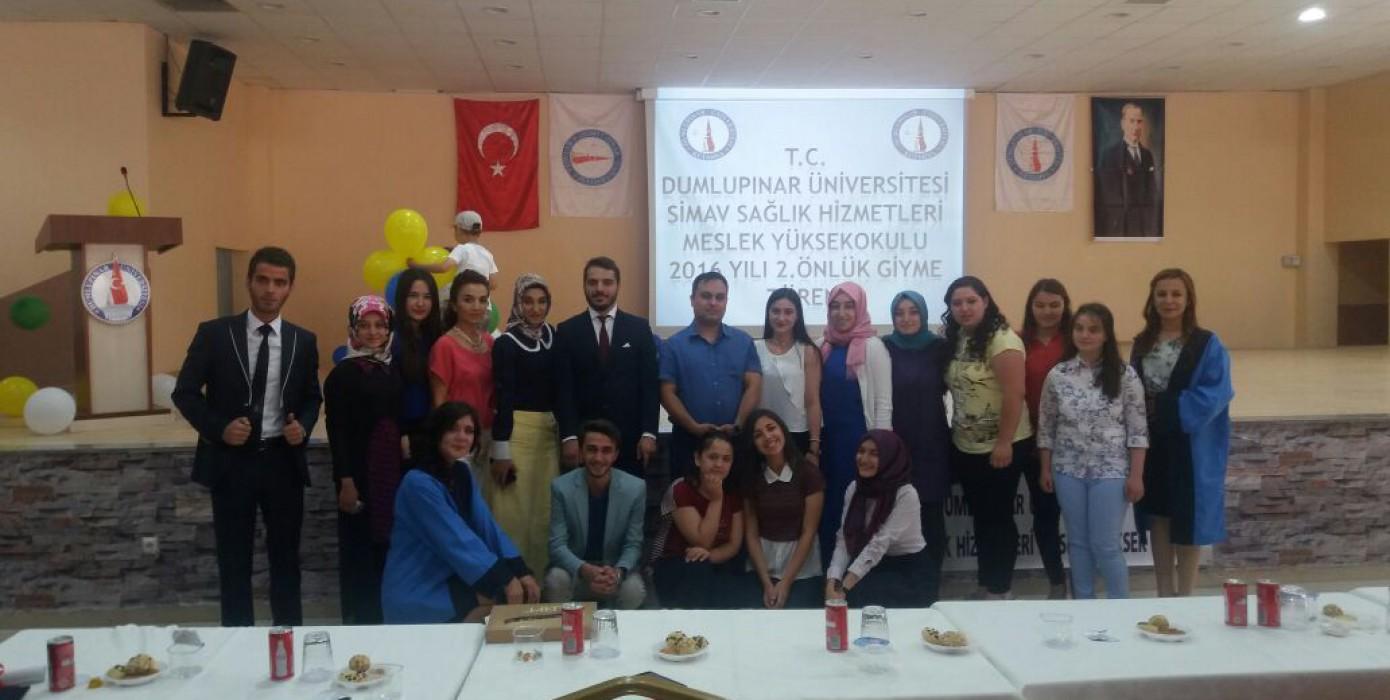 2015-2016 Eğitim Öğretim Yılı Önlük Giyme ve ANT İçme Töreni