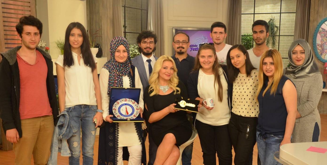 """Şaphane Meslek Yüksekokulu Öğrencileri """"Show TV Zahide Yetiş'le Hayata Programında"""""""