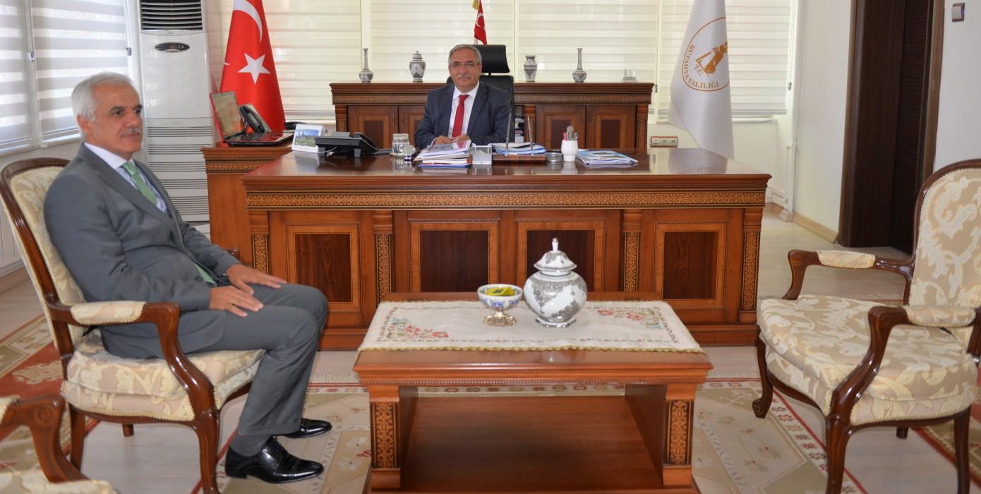 Dekanımız Prof. Dr. Muammer Gavas'ın Sayın Valimiz Ahmet Hamdi Nayır'ı Ziyaretleri