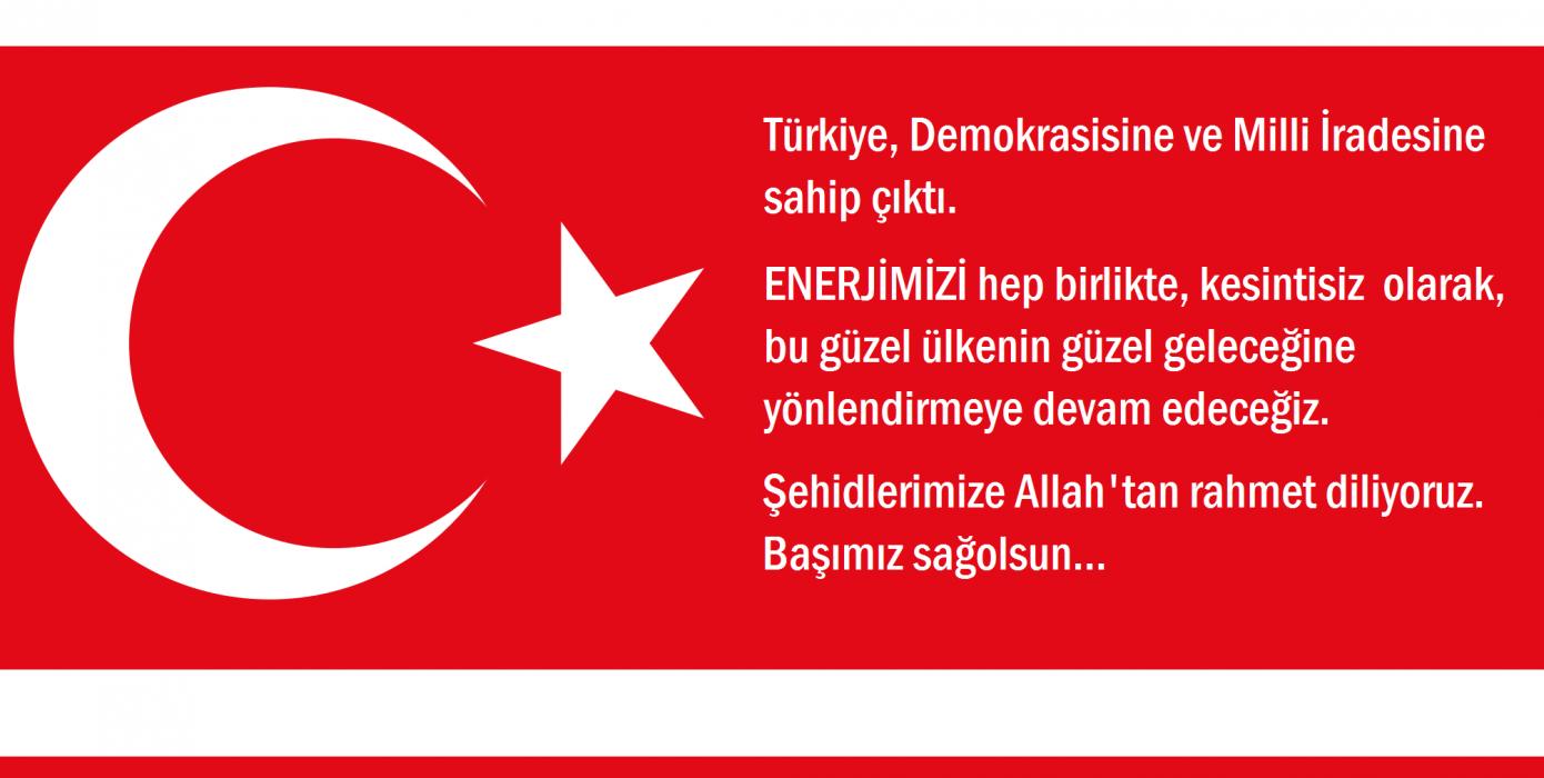 Türkiye, Demokrasisine ve Milli İradesine Sahip Çıktı