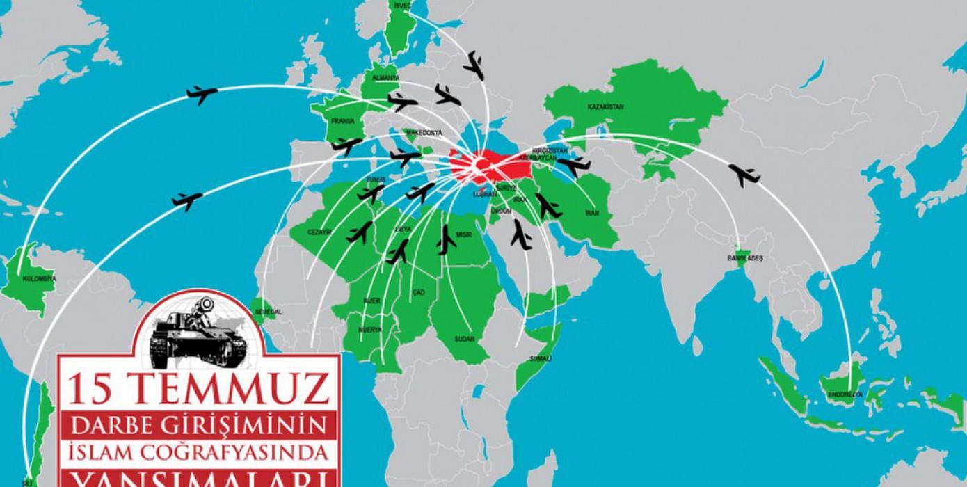 """""""15 Temmuz Darbe Girişiminin İslam Coğrafyasında Yansımaları"""" Konferansı Düzenlendi"""