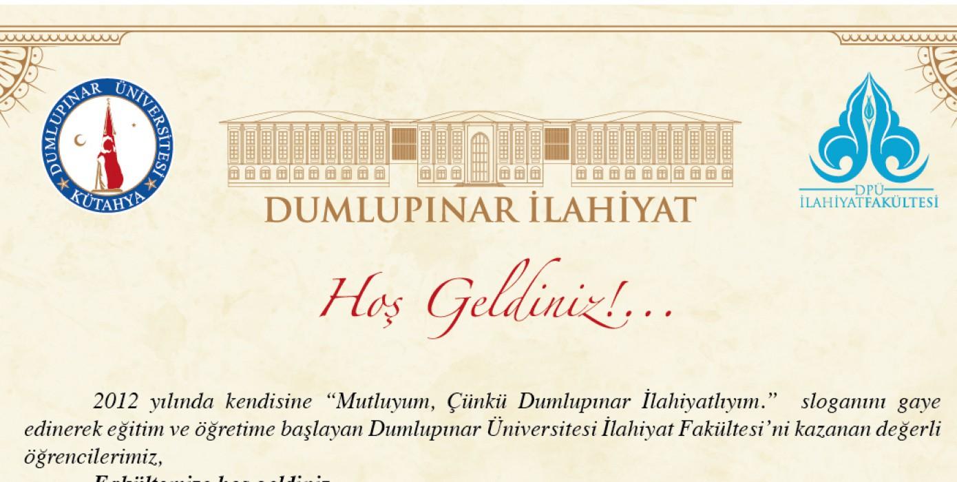 Dekanımız Sayın Prof. Dr. Halis Aydemir Fakültemize Yeni Kaydolan Öğrencilerimize Yazılı Mesaj Yayımladı