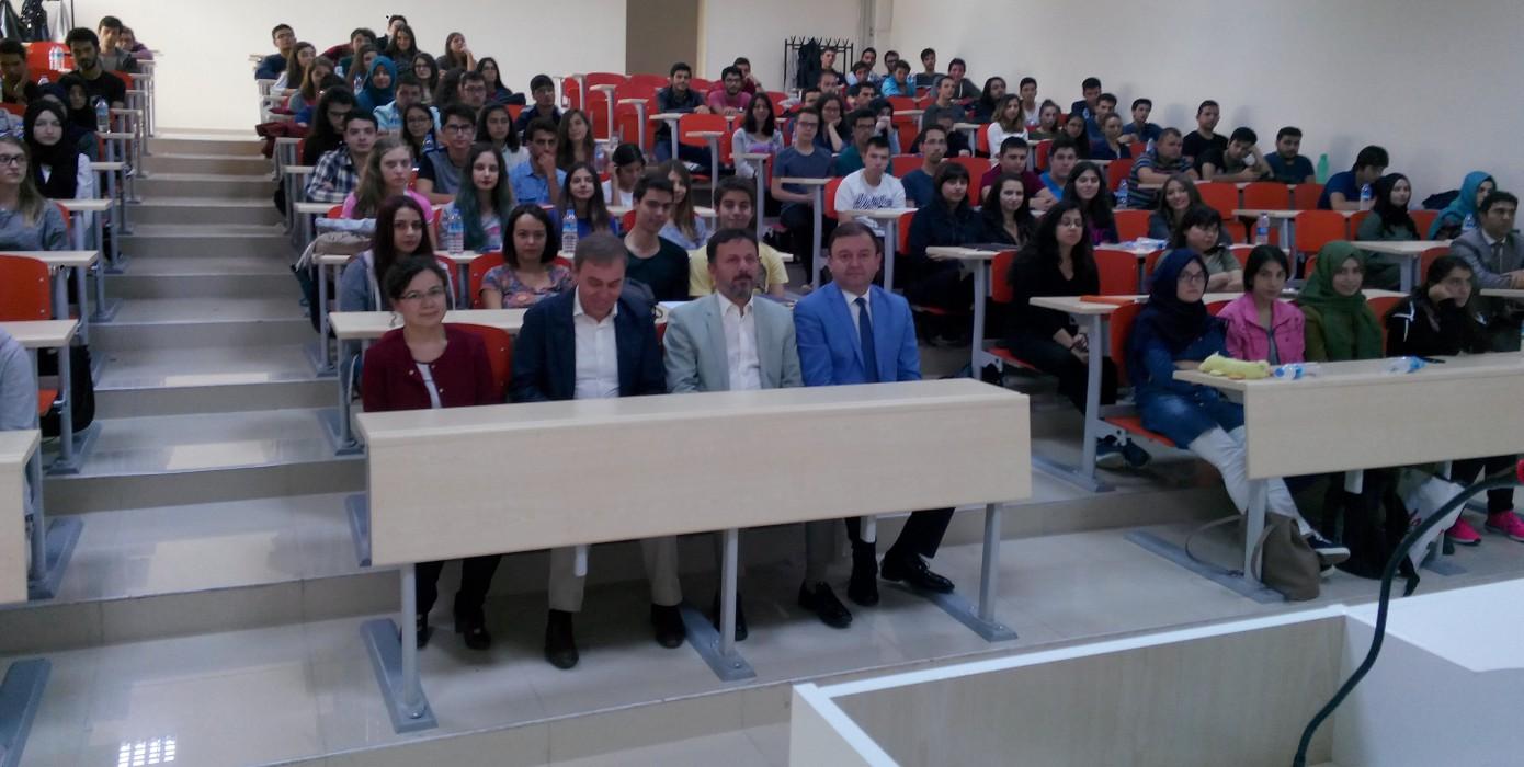 Fakültemizde 2016-2017 Eğitim Öğretim Yılı Açılış Dersi Gerçekleştirildi.