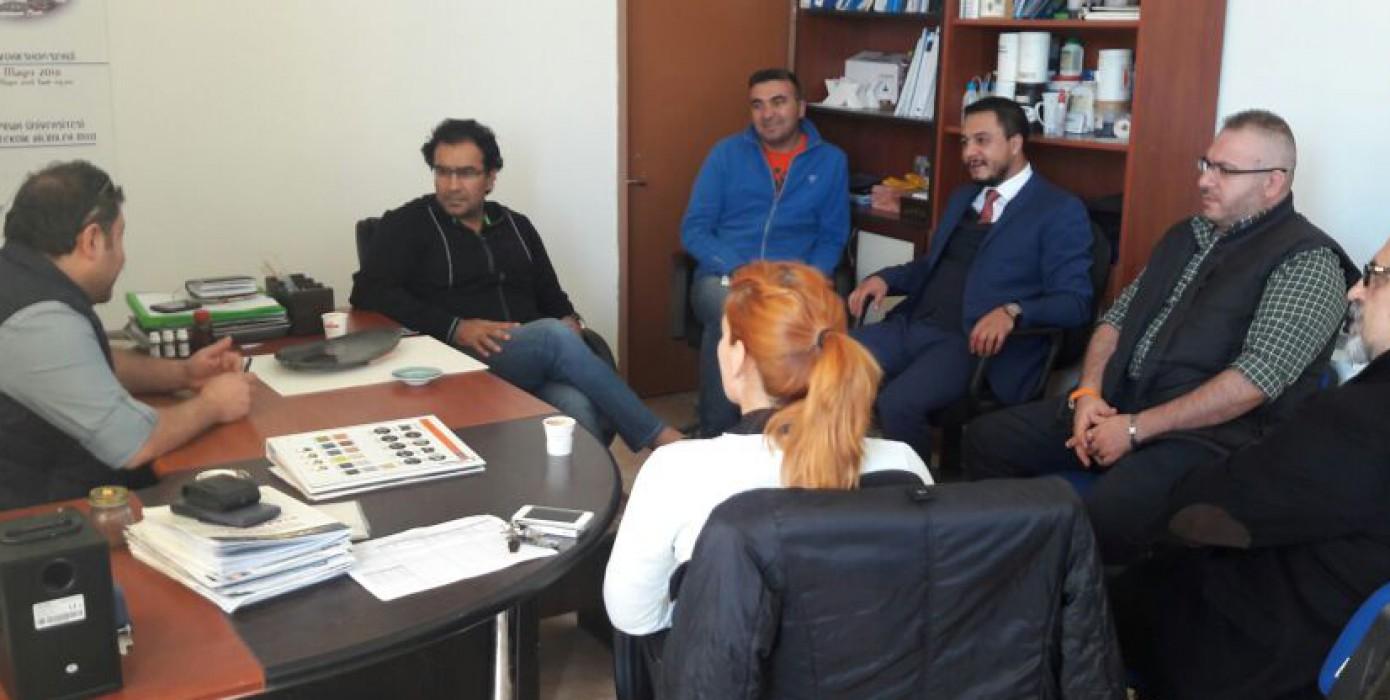 Dünyaca Ünlü Ressam ve Belgesel Yapımcısı Ahmet Güneştekin Kgsmyo'ya Ziyarette Bulundu.
