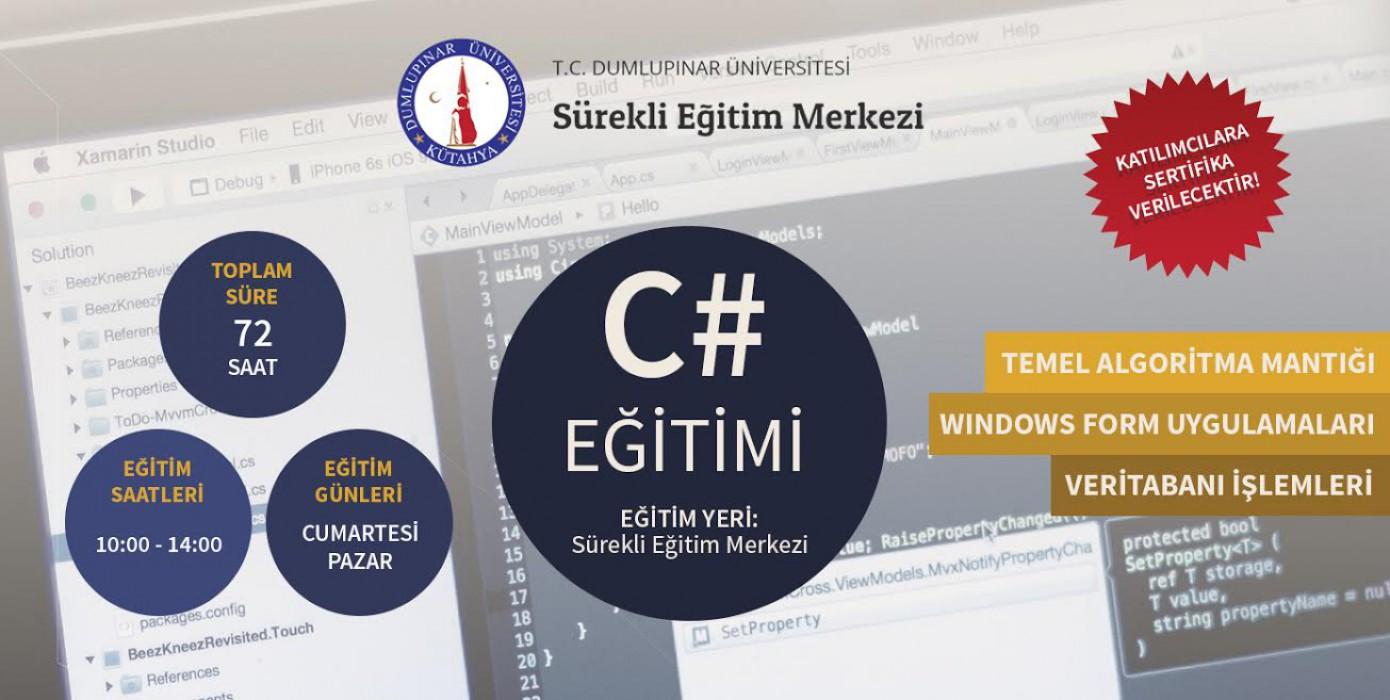 Temel C# Görsel Programlama (Form Uygulamaları)
