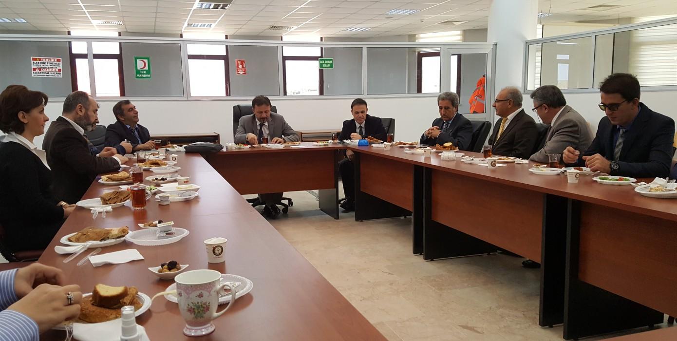 Üniversitemiz Genel Sekreterlik 4c'li Çalışan İSG Kurul Toplantısı 07 Kasım 2016 Tarihinde Gerçekleştirildi.