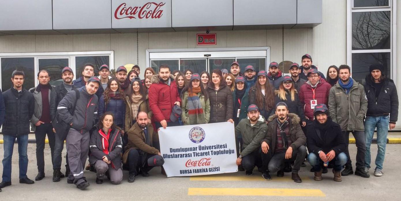 Coca-cola Bursa Fabrikasını Gezdik
