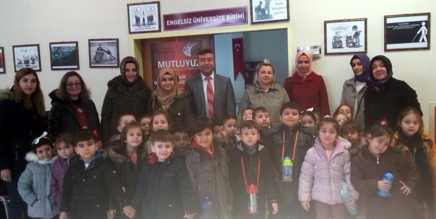 Nene Hatun Anaokulu Minik Öğrencilerin Birime Ziyareti