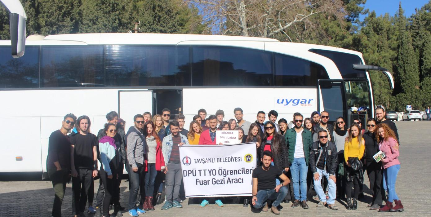 Öğrencilerimiz 10. Travel Turkey İzmir Turizm Fuarı'na Katıldılar