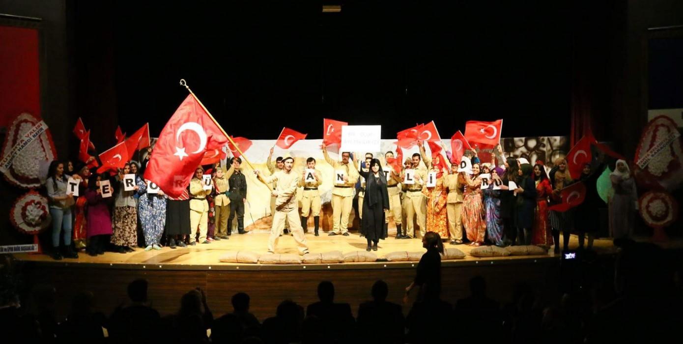 Türkçe Eğitimi Ana Bilim Dalı Yine Sahnedeydi