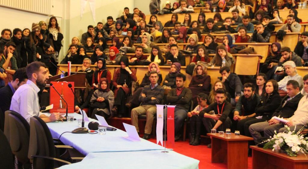 Erdem Yener Üniversitemizde
