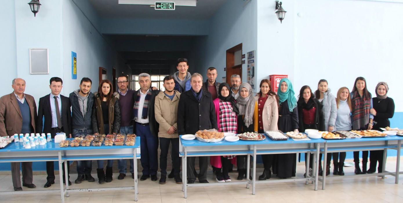 Meslek Yüksekokulumuzdan Halep'e Yardım Eli