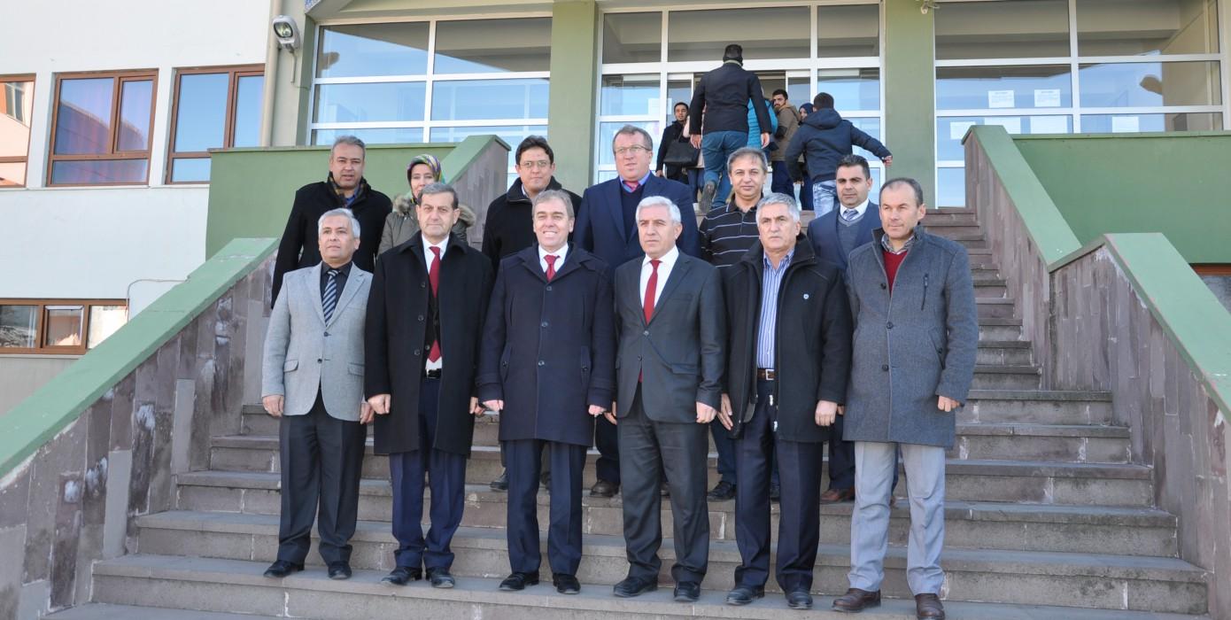 Milletvekili Kavuncu'nun Meslek Yüksekokulumuzu Ziyareti