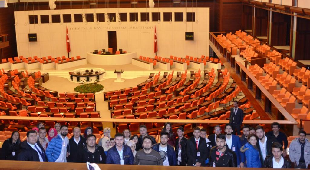 Şaphane Meslek Yüksekokulumuz TBMM'ye Teknik Gezi Düzenledi