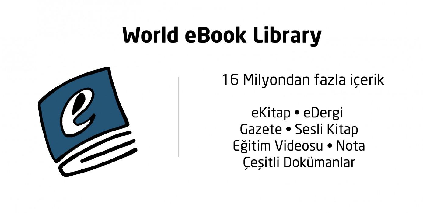 World Ebook Library Veri Tabanı Erişime Açılmıştır