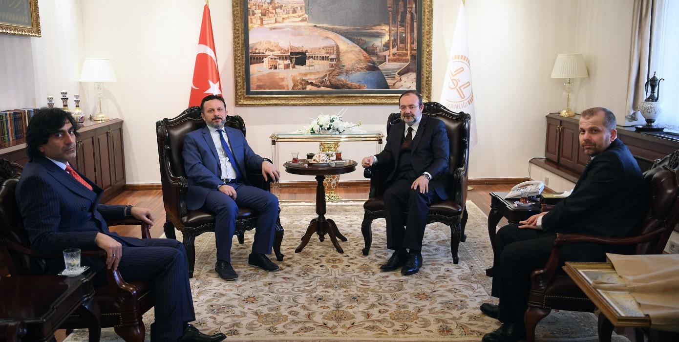 Diyanet İşleri Başkanı Prof. Dr. Mehmet Görmez ile Görüşme Gerçekleştirildi