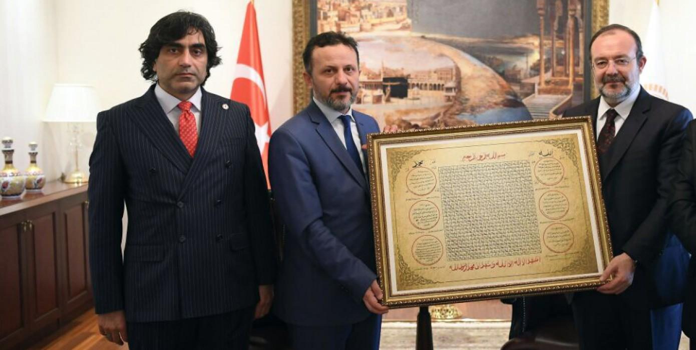 Diyanet İşleri Başkanı Prof. Dr. Mehmet Görmez İslami İlimler Fakültesi'nin Yeni Binasının Açılışına Davet Edildi