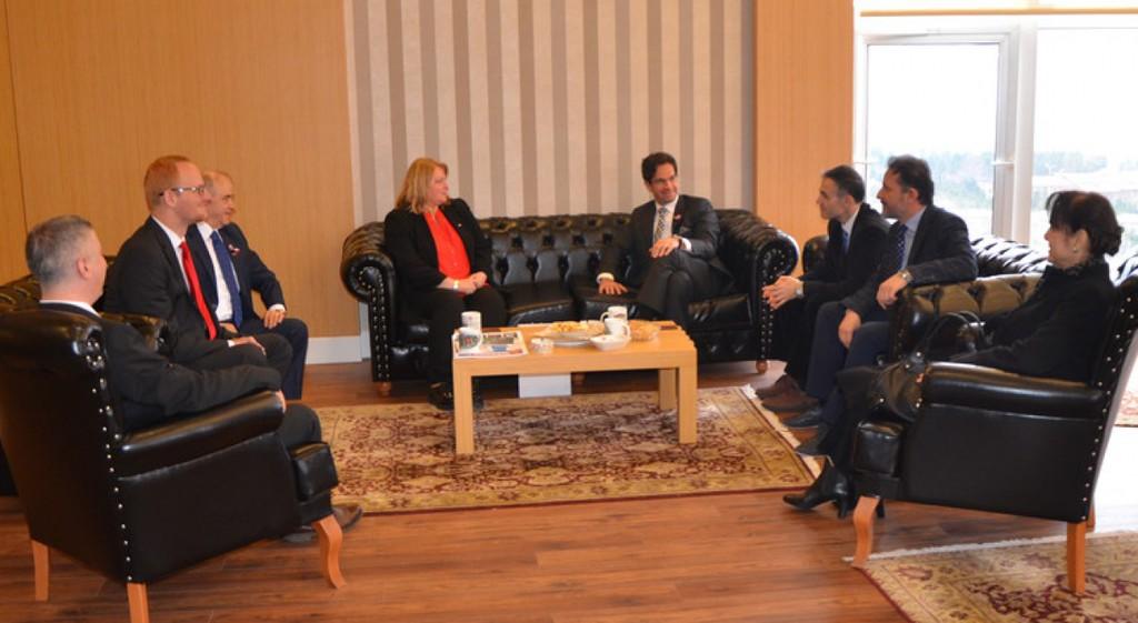 Macaristan İstanbul Başkonsolosu Üniversitemizi Ziyaret Etti