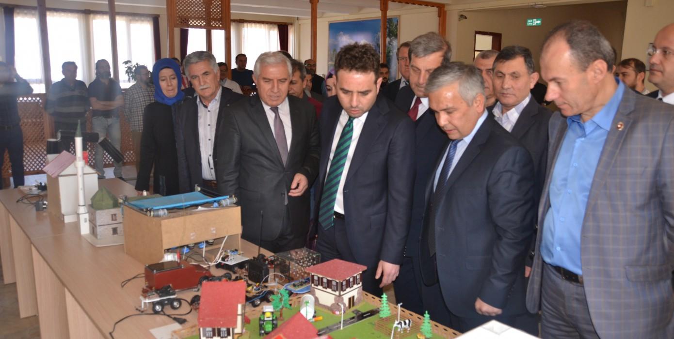 Milletvekili İshak Gazel' in Meslek Yüksekokulumuzu Ziyareti