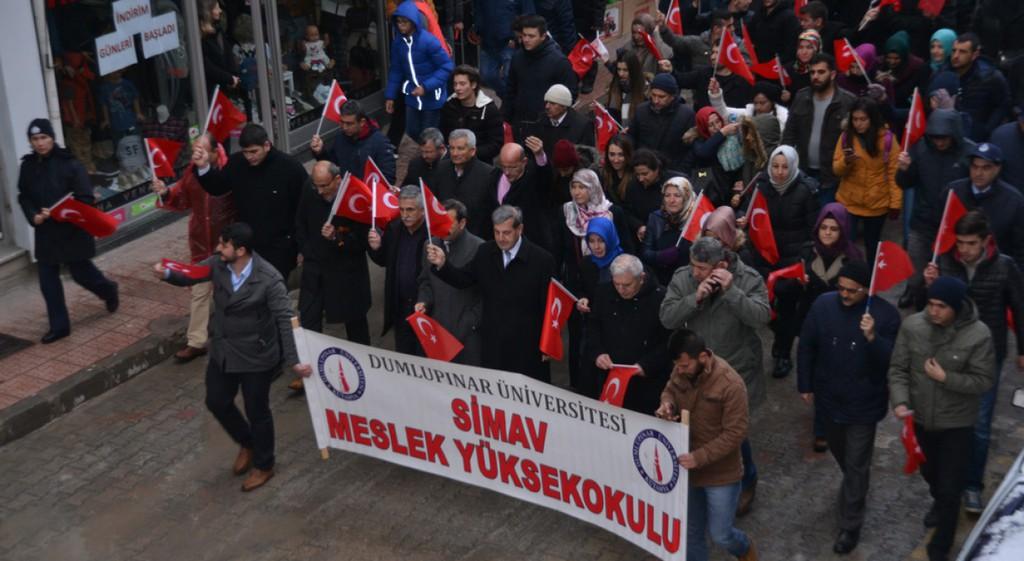 Simav Meslek Yüksekokulumuzda, Çanakkale Zaferi'nin 102. Yılı Kutlandı