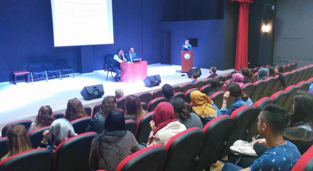 Domaniç Hayme Ana MYO'da Öğrencilere Liderlik Semineri