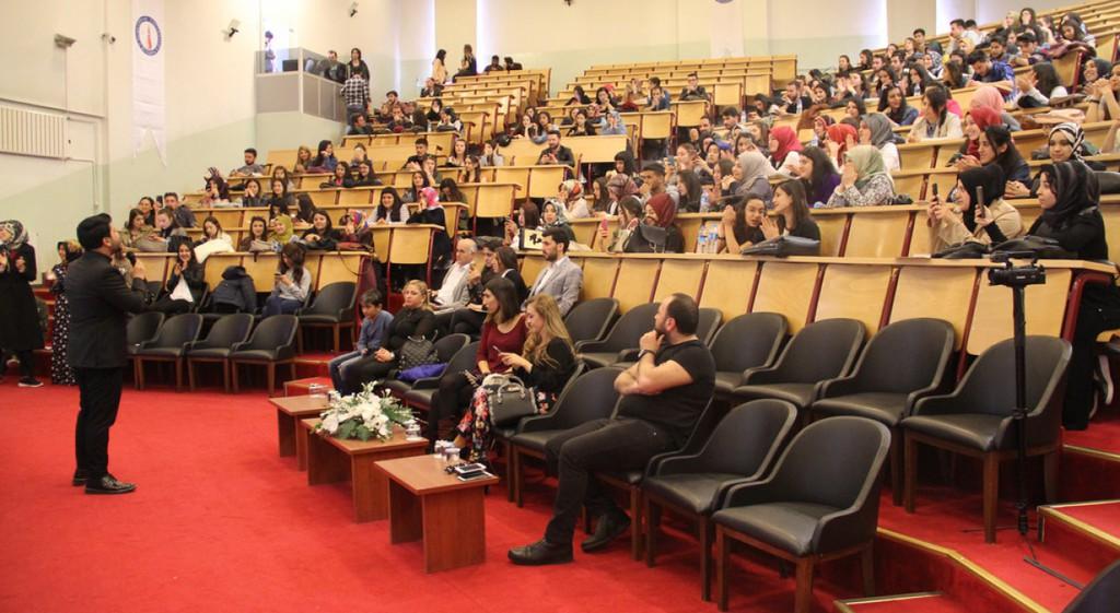 Ravi İncigöz ve Refik Sarıöz Üniversitemizde