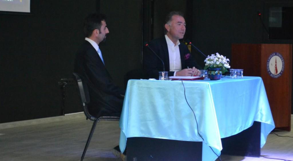 Erkan Güral, Domaniç Hayme Ana Meslek Yüksekokulumuz ÖğrencileriyleHhayat Tecrübelerini ve Hayatta Başarılı Olma Sırlarını Paylaştı
