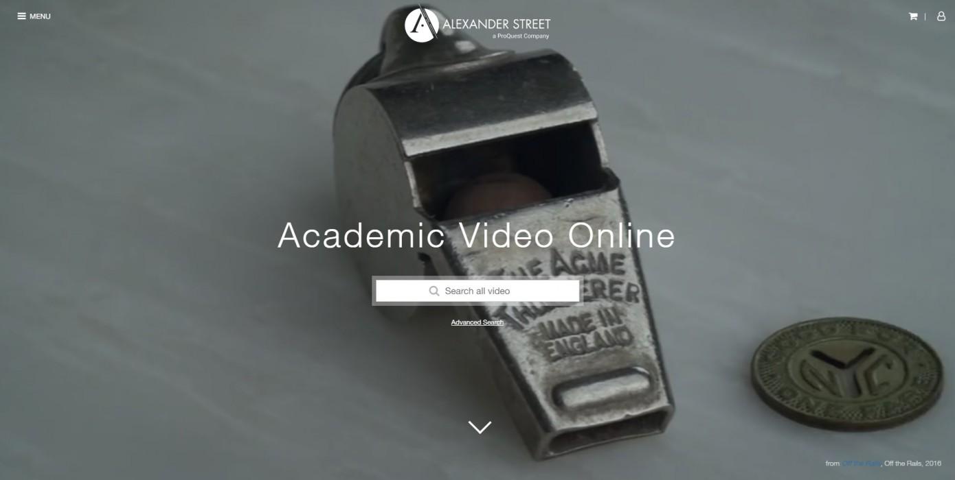 Proquest Video Koleksiyonları Deneme Erişimine Açılmıştır