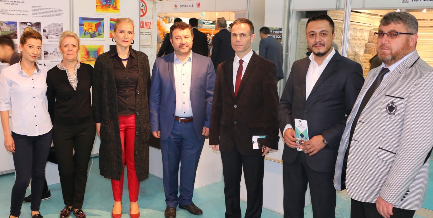 """Kütahya Güzel Sanatlar Meslek Yüksek Okulu 11-14 Mayıs Tarihlerinde """"Kütahya 2. Yapı Fuarına"""" Katıldı."""