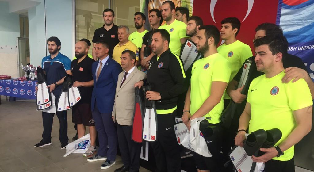 Üniversitemizde Sualtı Hokeyi Büyükler Türkiye Şampiyonası Gerçekleştirildi