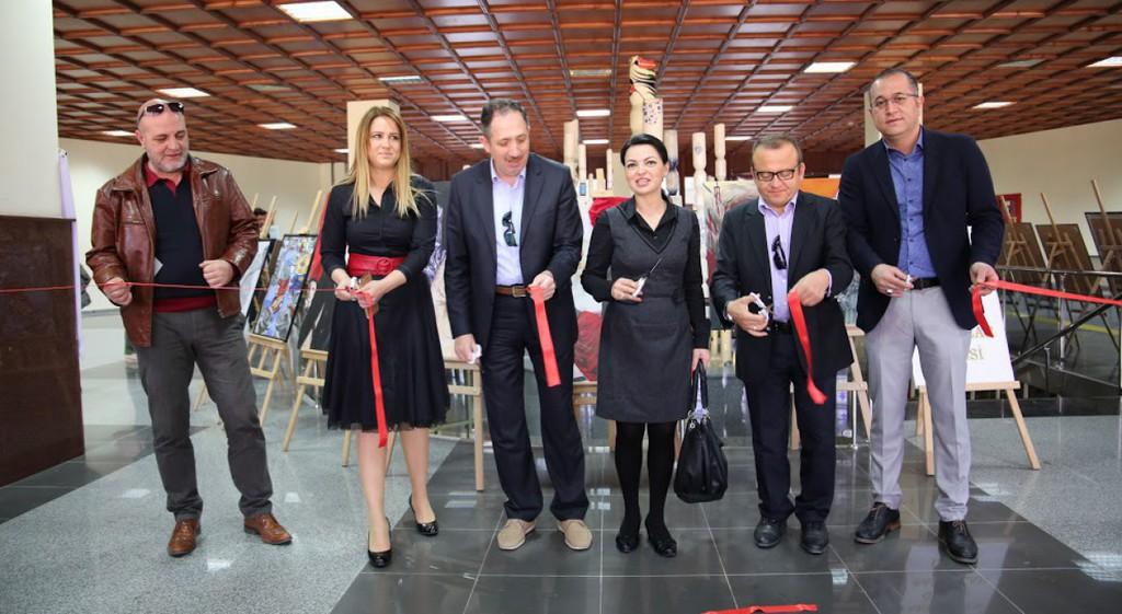 Ahmet Yakupoğlu Güzel Sanatlar Lisesi, Üniversitemizde Sergi Açtı