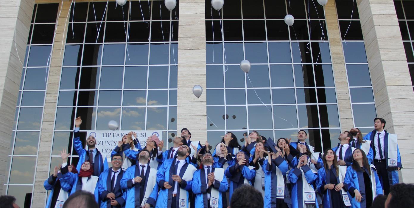 Fakültemiz 2016 - 2017 Eğitim Öğretim Yılı Mezuniyet Töreni Düzenlendi