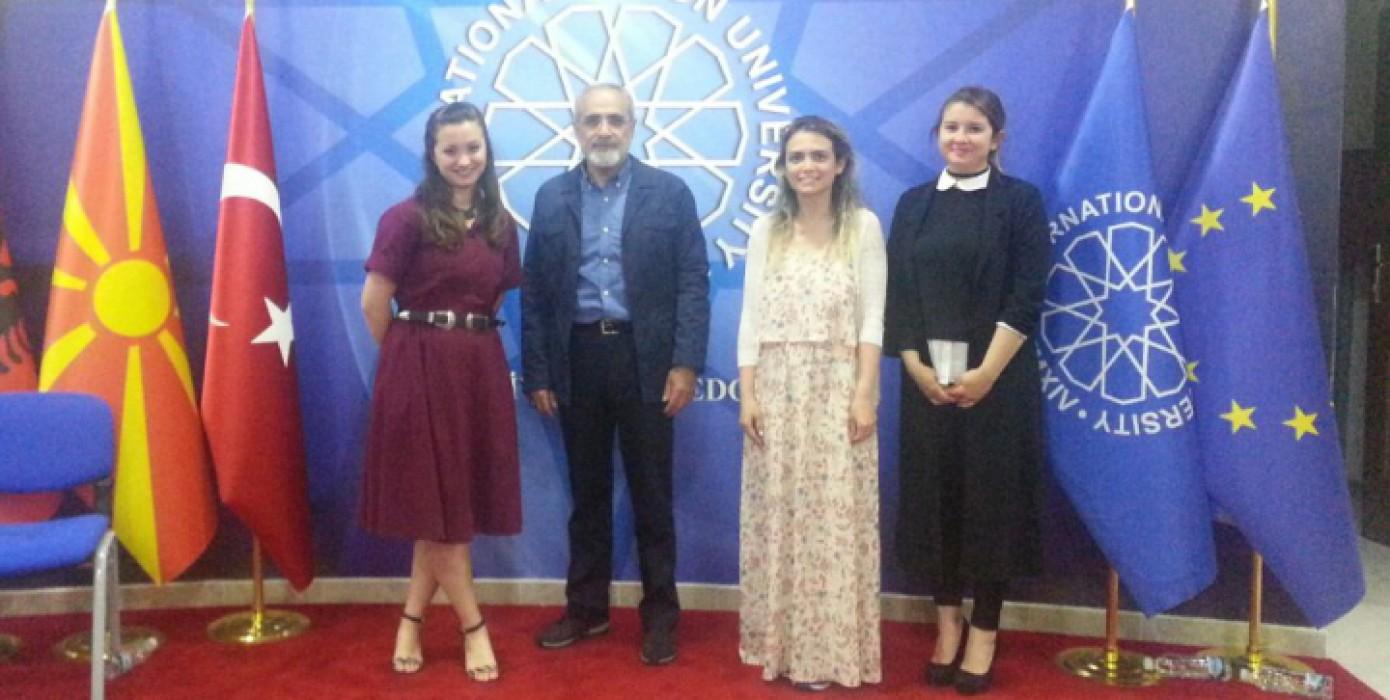 International Vision Üniversitesi'nde Karma Sergi Düzenlendi.