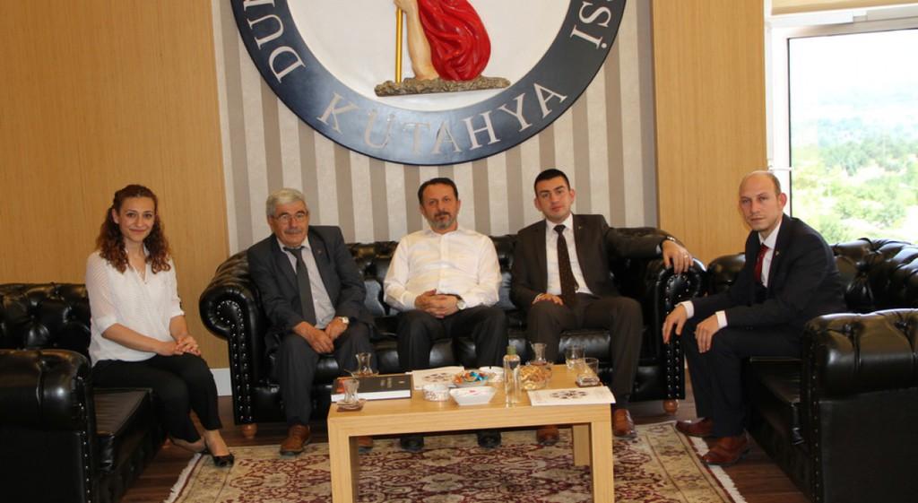 MHP Merkez İlçe Teşkilatından Rektörümüze Ziyaret