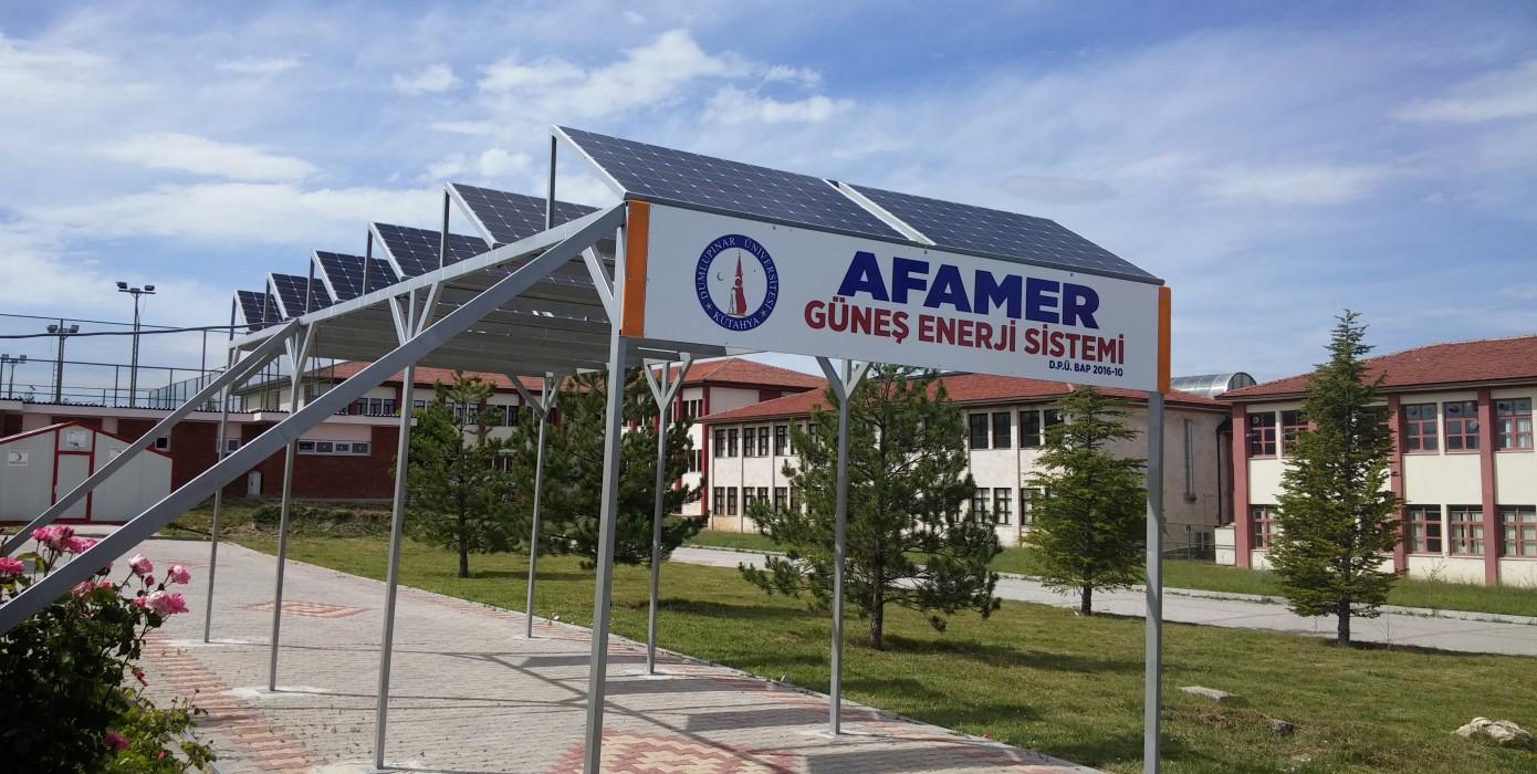 Afamer Güneş Enerji Sistemi