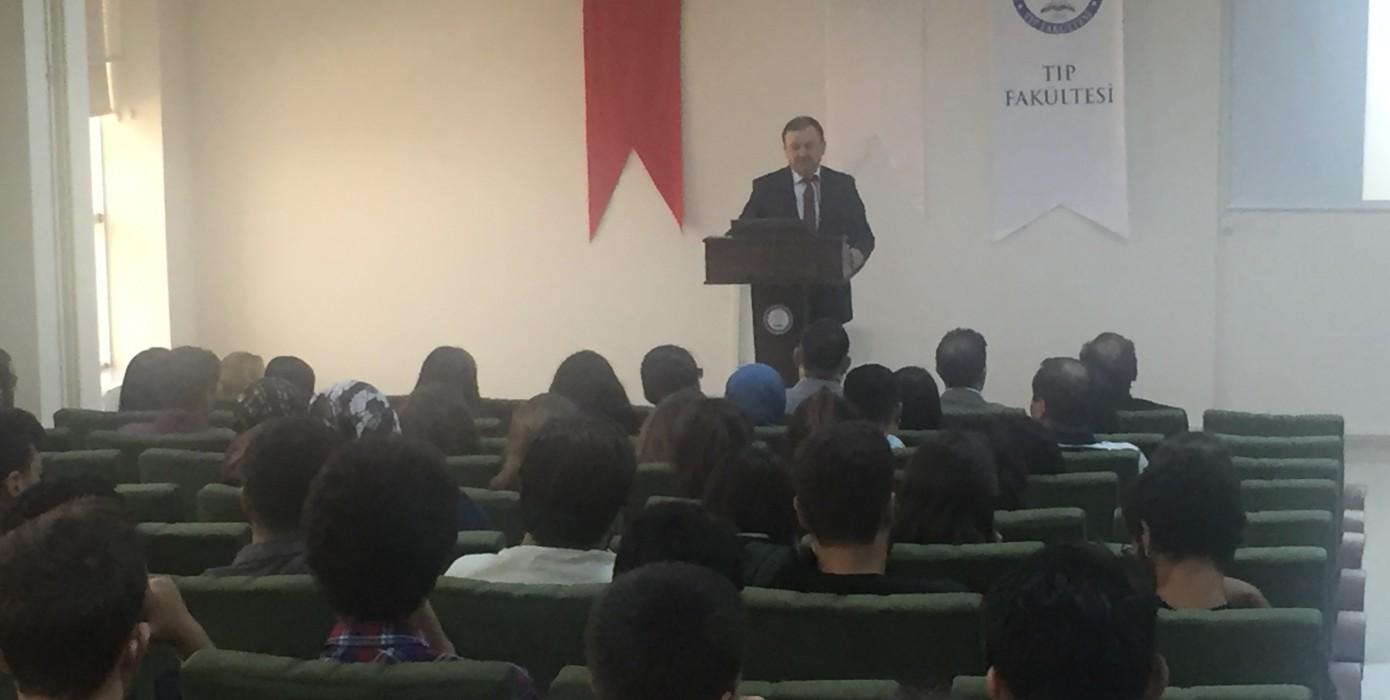Fakültemiz 2017 - 2018 Eğitim Öğretim Yılı Açılış Dersi Gerçekleştirildi.